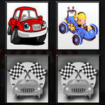 Racing Cars Memory game