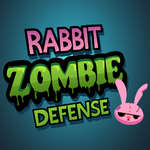 Rabbit Zombie Defense game