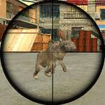 Kaninchen-Shooter Spiel
