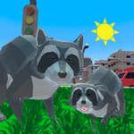 Wasbeer Adventure City Simulator 3D spel