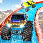 Състезание чудовище камион игра
