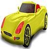 игра Красный местный автомобиль окраску