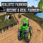 Real Tractor Agricultura Simulator Heavy Duty Tractor joc