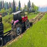 Real Chain Tractor Towing Train Simulator game