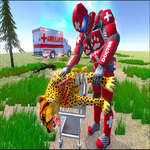 Real Doctor Robot Animal Rescue game