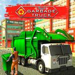 Истински боклук камион игра