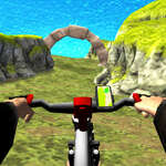 Real MTB Downhill 3D game
