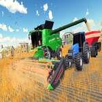 Echte dorpstractor landbouwsimulator 2020 spel