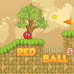 Roter Ball 5 Spiel