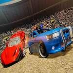 Real Car Demolition Derby Racing Spiel