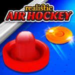 Realistisches Air Hockey Spiel