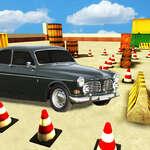 Véritable voiture Parking Drive jeu