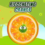 Ricocheting Orange game