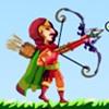 Robin lőni alma játék