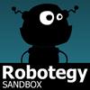Robotegy пясък игра