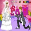 Romantische Hochzeit Zeit Spiel
