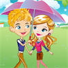 Romantic Raining Love game