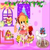 Romantik çiçek evi oyunu