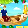 игра Романтический лодке
