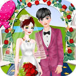 Romantic Spring Wedding game