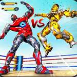 Robot Ring Fighting Wrestling Games juego