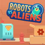 Robots vs Aliens game