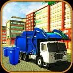 Nettoyeur de camions à ordures routières jeu