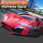 Rocket Cars Highway Rennen Spiel