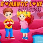 Diferencias románticas de amor juego