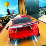 Raketové kaskadérske autá hra