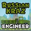 Orosz KRAZ 3 mérnök játék