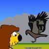 Running Lion game