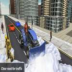 игра Россия Extreeme Grand Snow Clean Road Simulator 19