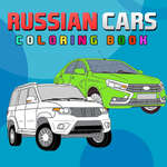 Russian Cars Coloring Book game