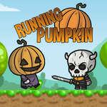 Running Pumpkin Spiel