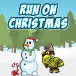 Running On Christmas game