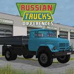 Diferencias de camiones rusos juego