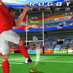Rugby kopy hra