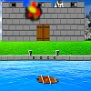 Sailing Ship Castle Attack game