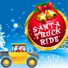 Santa kamyon sürüş oyunu