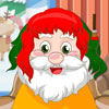 Santa claus hair salon game
