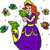 Sailor fairy coloring game