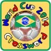 Самба Футбол Бразилия Световната купа кръстословица игра
