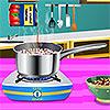 Szardíniai homár spagetti játék