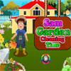 Sam Garden Cleaning Time game