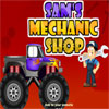 Sams Mechanic Shop spel
