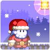 Santaman buzlu onun Muffins oyunu