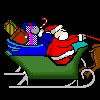Santa-Simulator Spiel