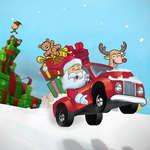 Santa Geschenk-Truck Spiel