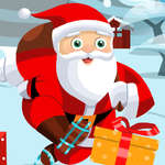 Santa sur des patins jeu